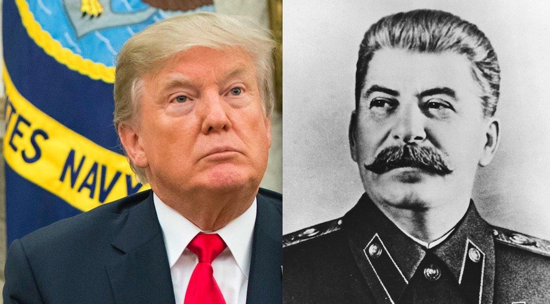 Donald Trump/Josef Stalin