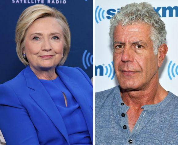 Anthony Bourdain Rips Hillary Clinton For 'Shameful' Response To Weinstein Scandal