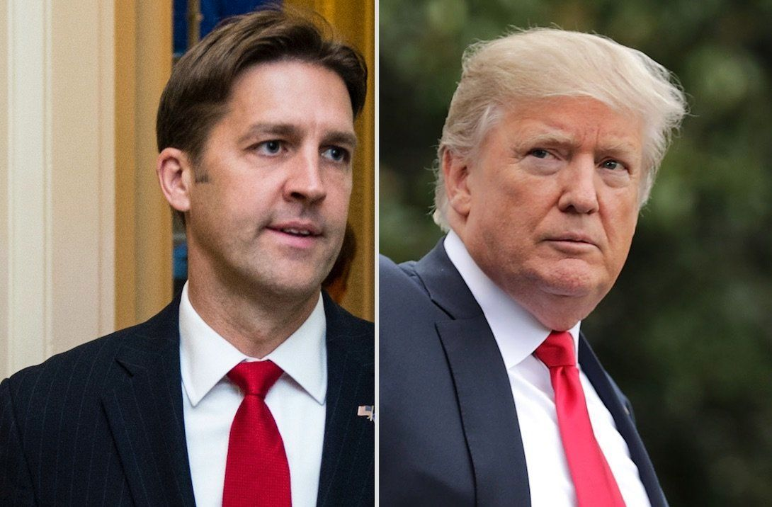 Ben Sasse and Donald Trump