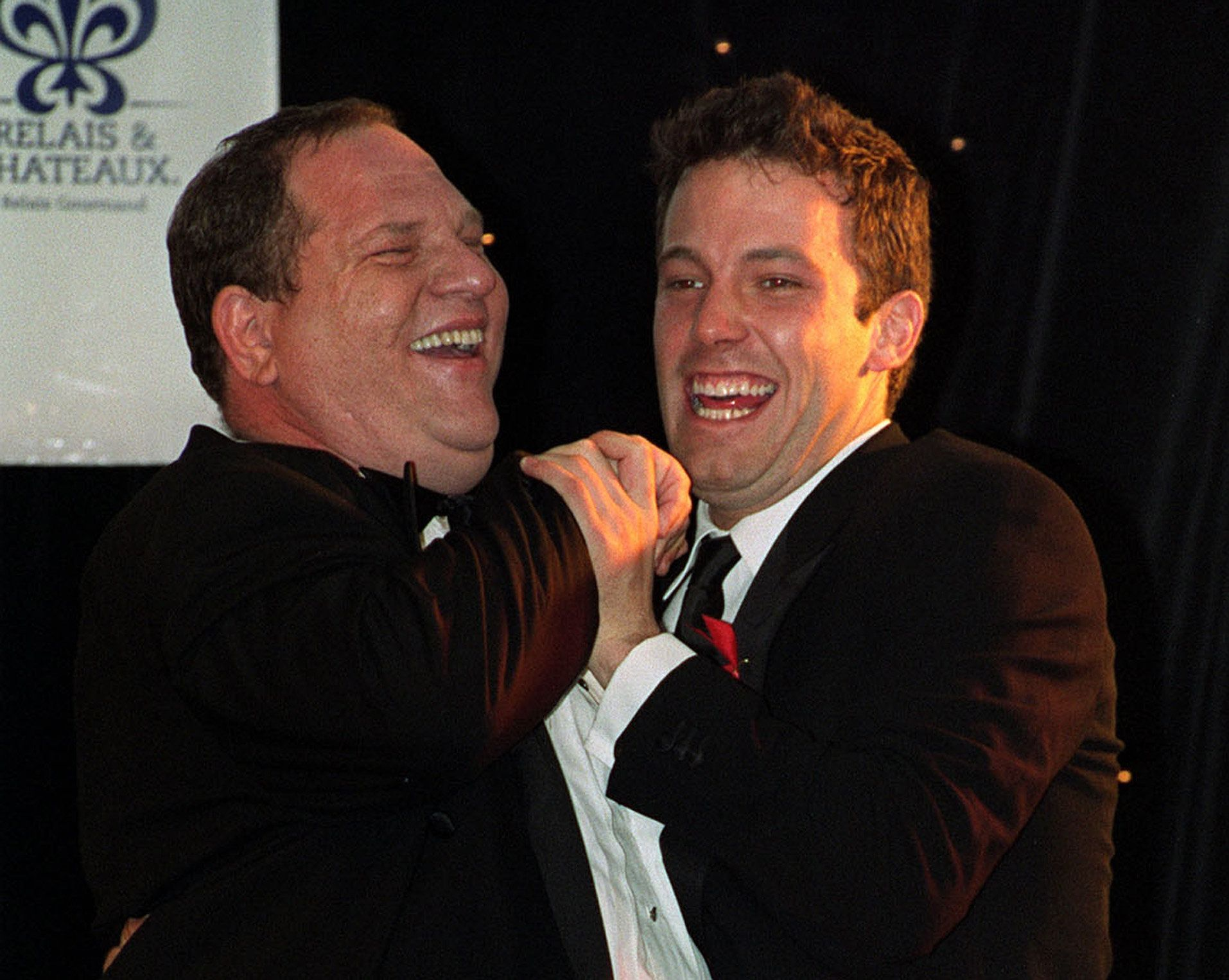 PA Wire  PA Images Ben Affleck with Harvey Weinstein