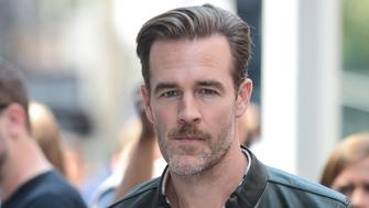 NEW YORK, NY - AUGUST 03:  Actor James Van Der Beek leaves the 'AOL Build' taping at the AOL Studios on August 03, 2017 in New York City.  (Photo by Ray Tamarra/GC Images)