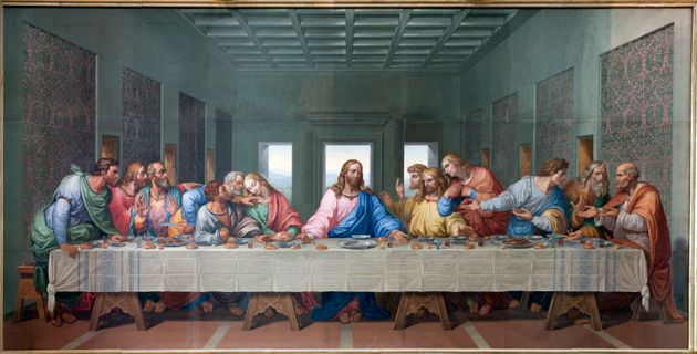 There were 13 people at the Last Supper — Jesus and his 12