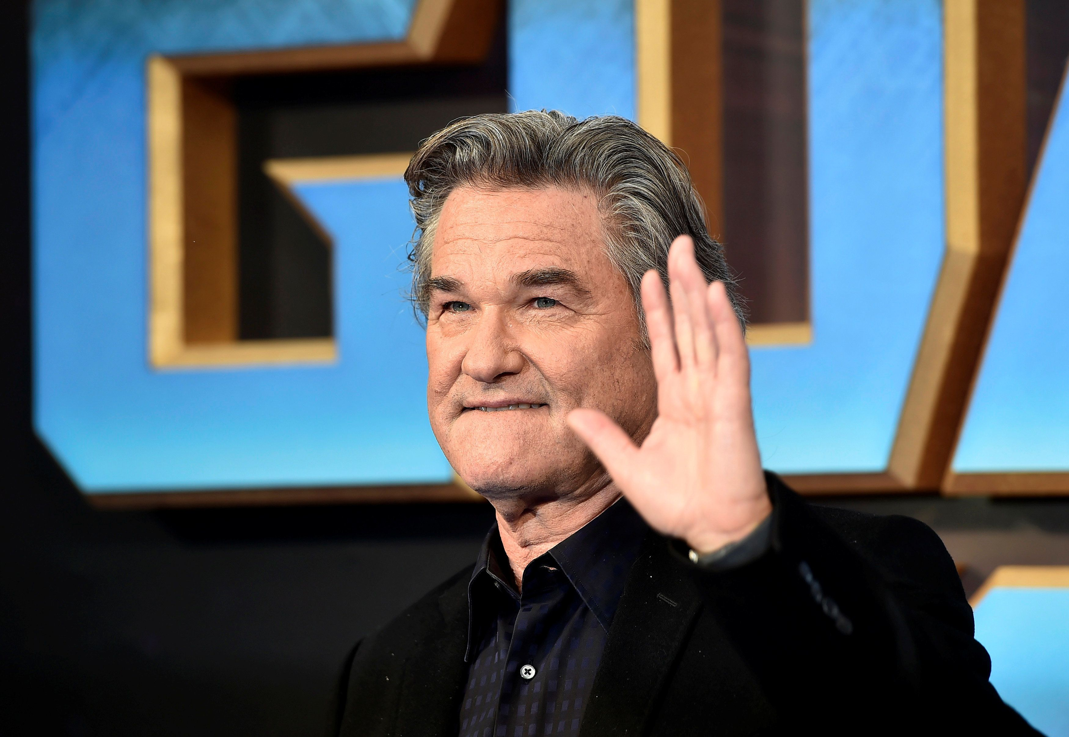 "Actor Kurt Russell attends a premiere of the film ""Guardians of the galaxy, Vol. 2"" in London April 24, 2017. REUTERS/Hannah McKay"