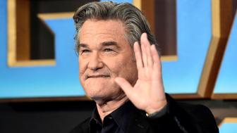 """Actor Kurt Russell attends a premiere of the film """"Guardians of the galaxy, Vol. 2"""" in London April 24, 2017. REUTERS/Hannah McKay"""