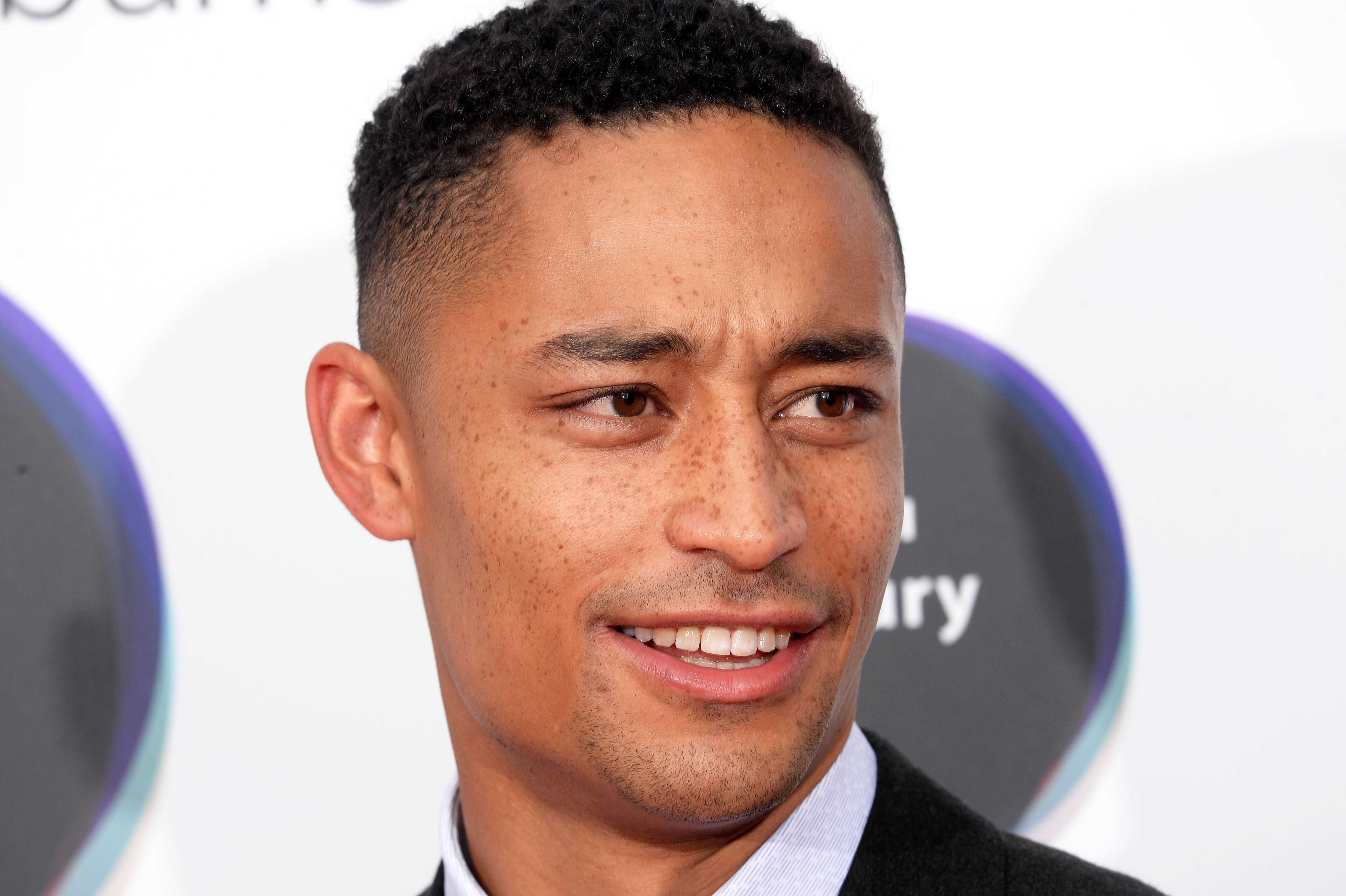 LONDON, ENGLAND - SEPTEMBER 14:  Loyle Carner arrives at the Hyundai Mercury Prize 2017 at Eventim Apollo on September 14, 2017 in London, England.  (Photo by Dave J Hogan/Dave J Hogan/Getty Images)