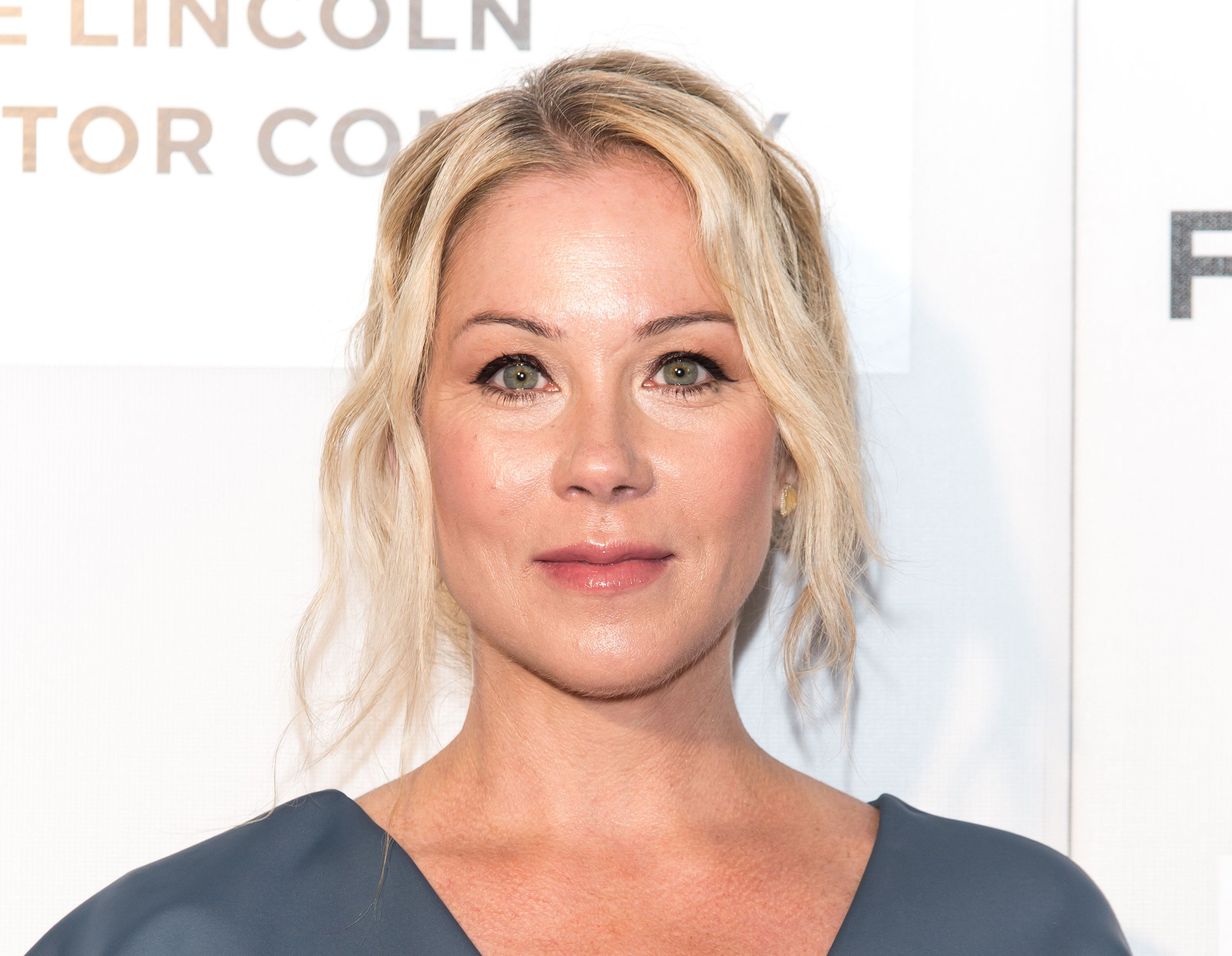 NEW YORK, NY - APRIL 16:  Actress Christina Applegate attends 'Youth In Oregon' Premiere during 2016 Tribeca Film Festival at John Zuccotti Theater at BMCC Tribeca Performing Arts Center on April 16, 2016 in New York City.  (Photo by Gilbert Carrasquillo/FilmMagic)