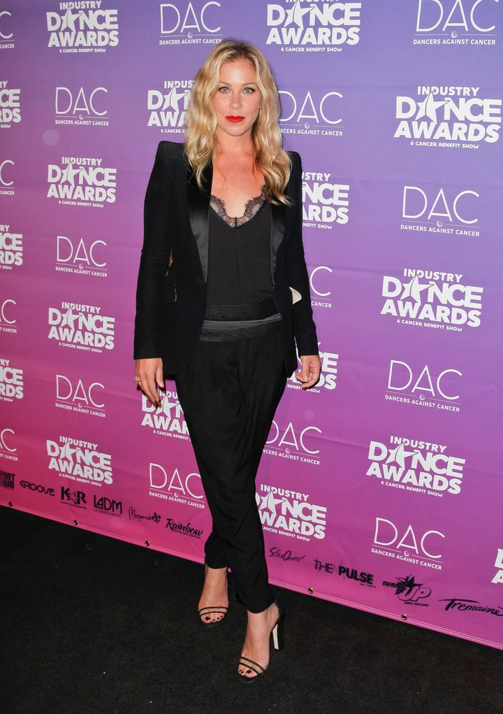 Christina Applegate attends the 2017 Industry Dance Awards.