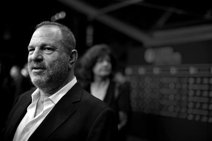 Harvey Weinstein attending a premiere in 2016.