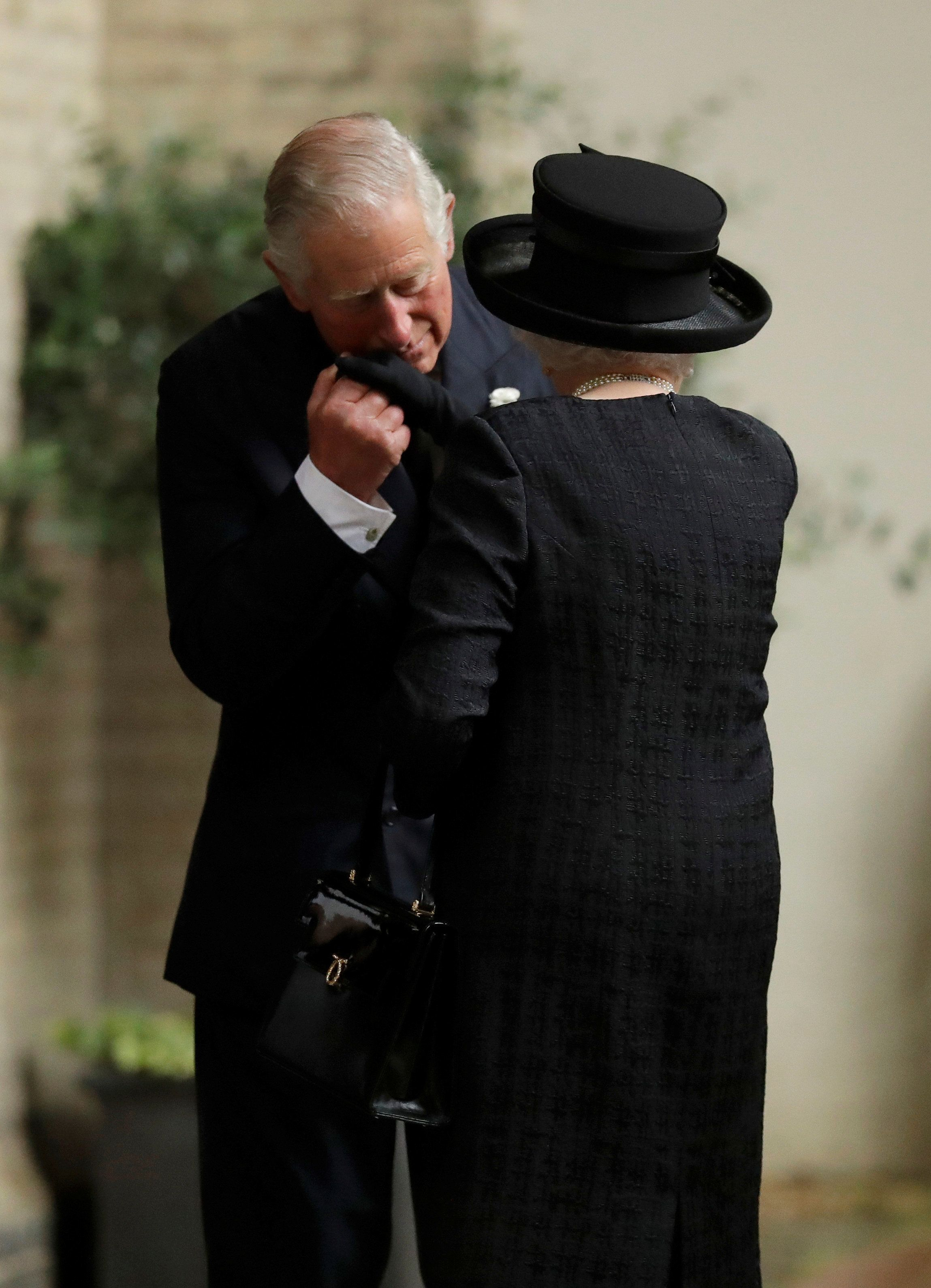 The Queen is greeted by Prince Charles in June this year.Mirroring her record-breaking reign, Charleshas...