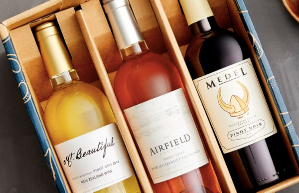 "Blue Apron has a great <a href=""https://www.blueapron.com/wine"" target=""_blank"">wine delivery subscription service</a> that a"