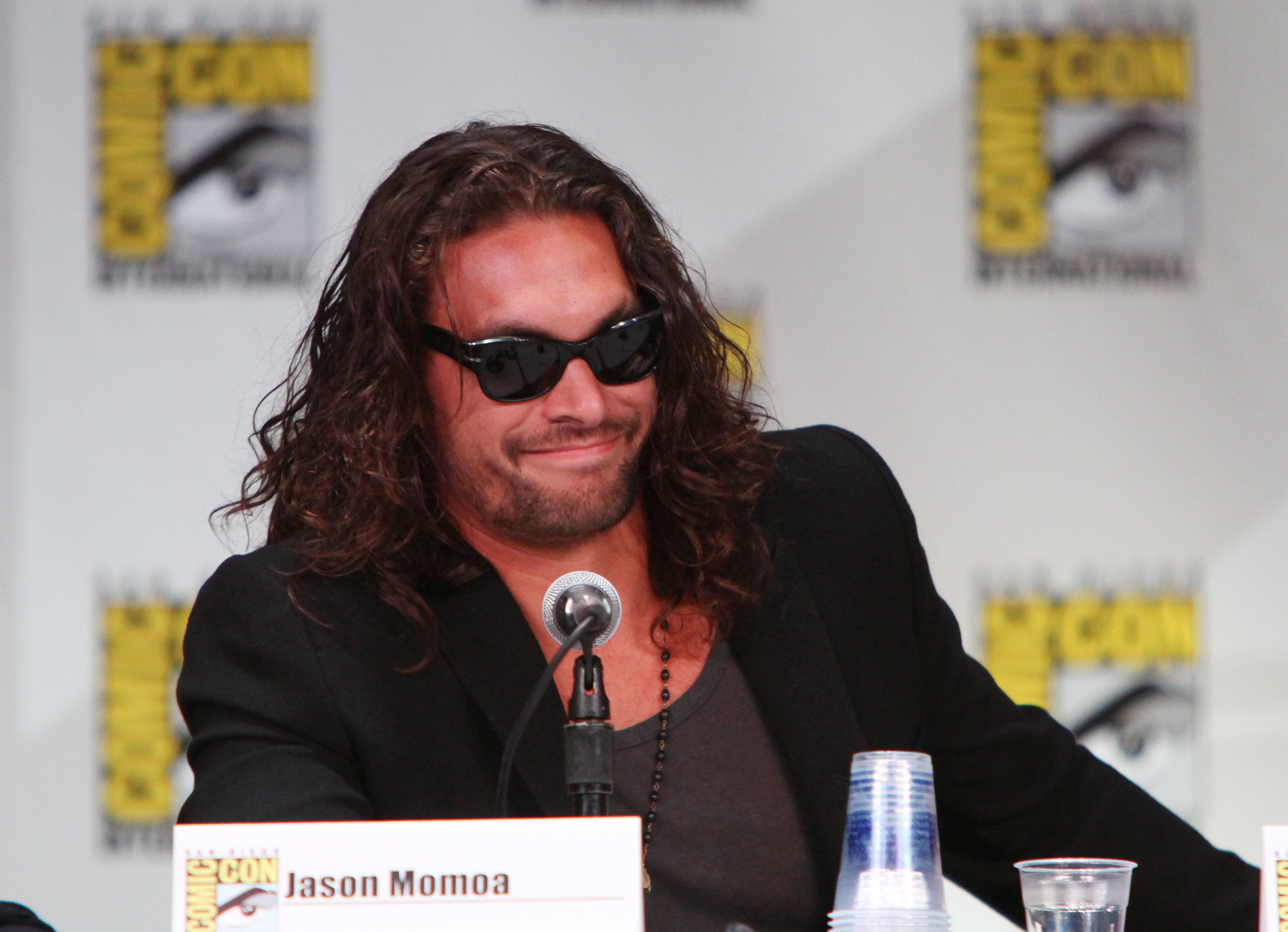 SAN DIEGO, CA - JULY 21:  Jason Momoa attends HBO's 'Game Of Thrones' Panel At Comic-Con 2011 on July 21, 2011 in San Diego, California.  (Photo by FilmMagic/FilmMagic)
