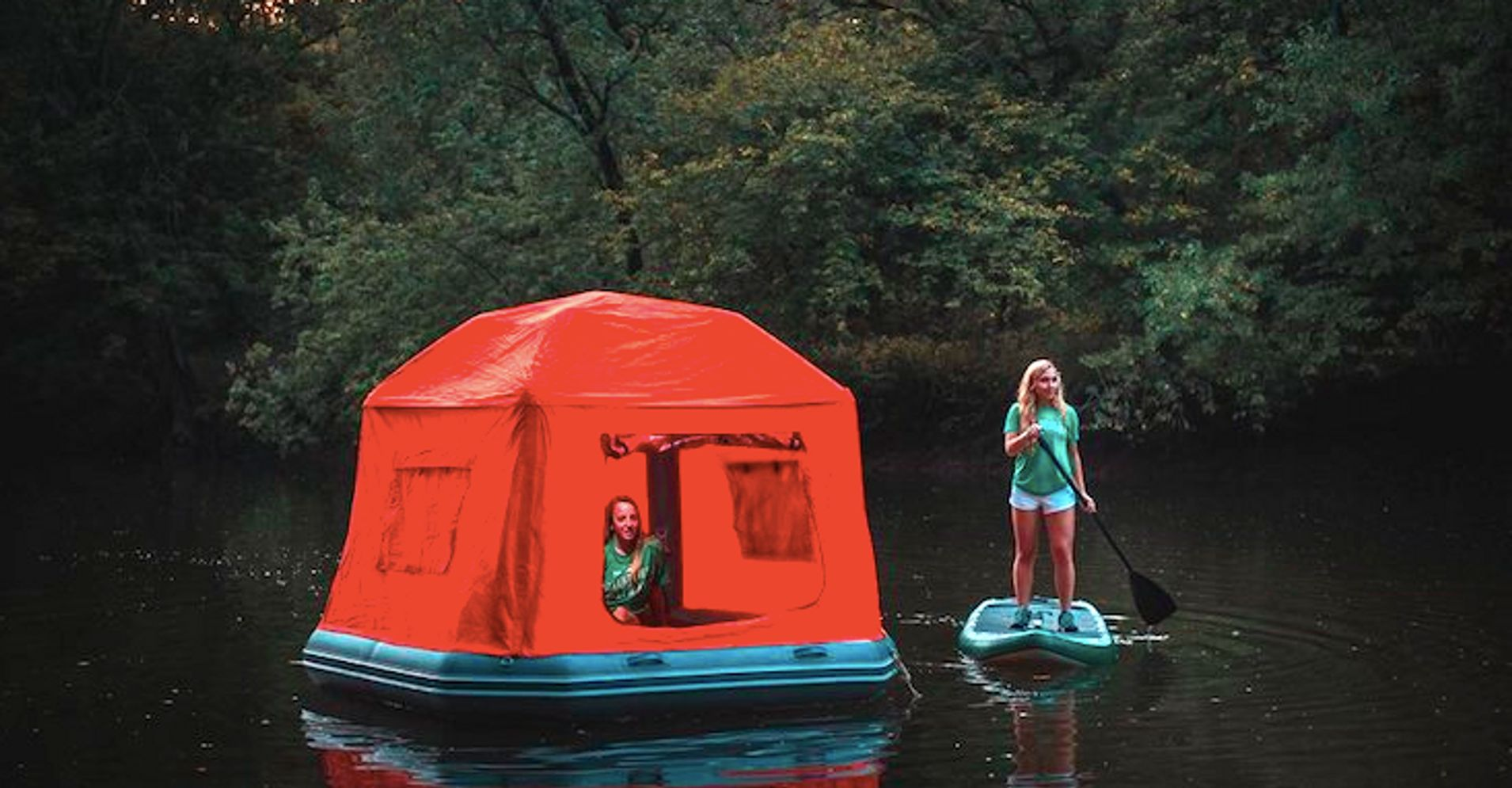 This Magical Floating Tent Will Make The World Your