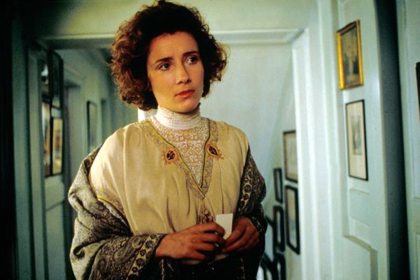 """Even I know a good thing when I see it,"" Thompson's Margaret Schlegel says in this Merchant Ivory production. The movie"