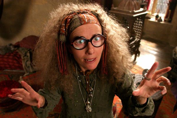 For such a batty side character, Sybill Trelawney played a gigantic role in Harry Potter's fate. It's only fitting that