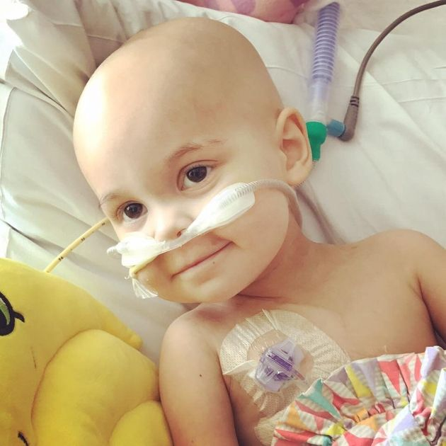 Sophie was diagnosedwith T-cell lymphomain