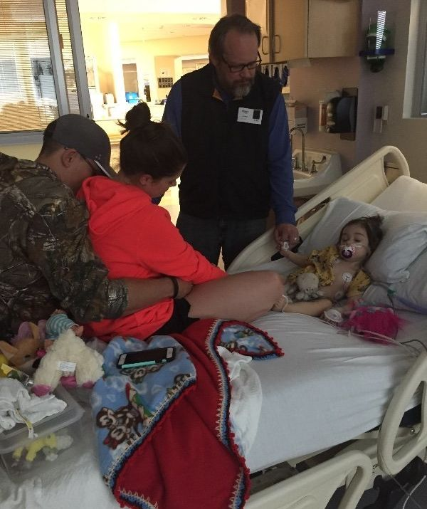 Sophie is being treated at Children's Medical Center in Dallas.