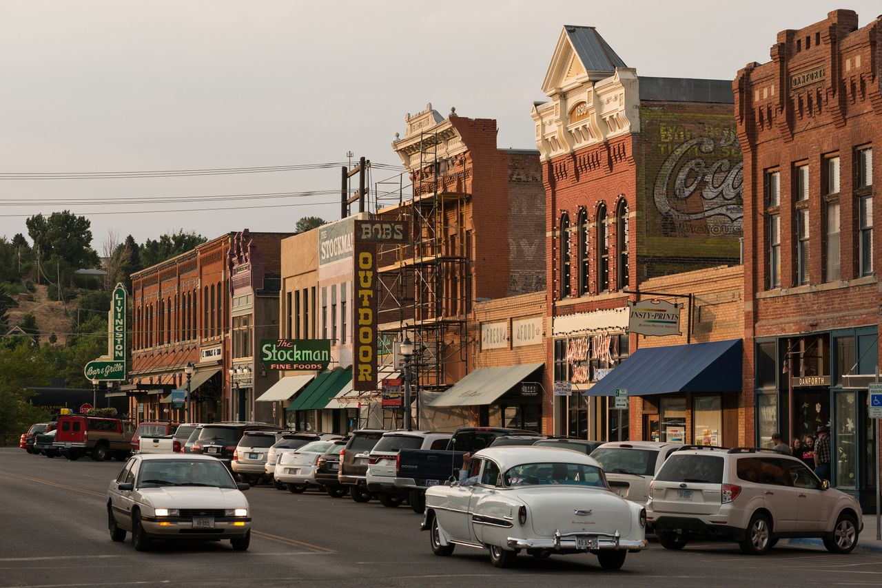 Livingston boasts a historic and thriving downtown. It caters to tourists with landmarks like the restored 1902 Northern Pacific Railroad depot, as well as bars, restaurants and art galleries.