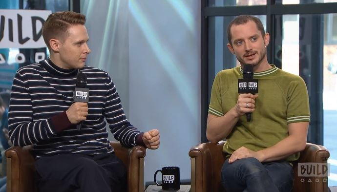 "Elijah Wood talks about his character Todd Brotzman in ""Dirk Gently's Holistic Detective Agency."""
