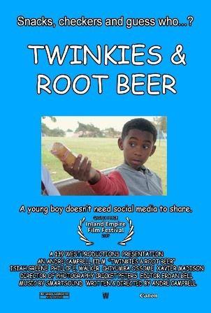 """film poster of """"Twinkies & Root Beer"""""""