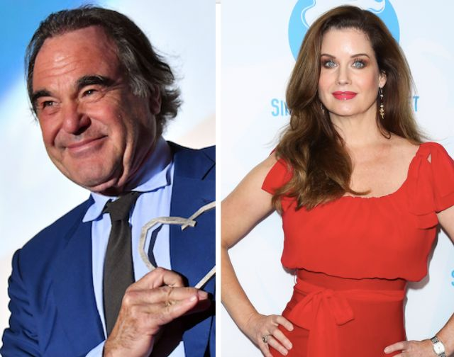 Director Oliver Stone is accused of molesting Carrie Stevens at a dinner party a couple of decades ago.The actress and