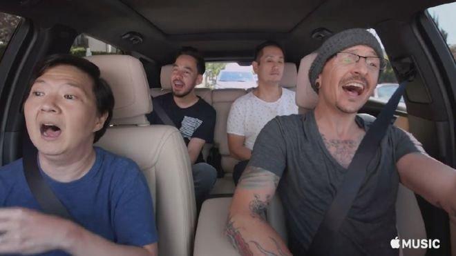 Linkin Park Unveil Chester Bennington 'Carpool Karaoke' Filmed Days Before His