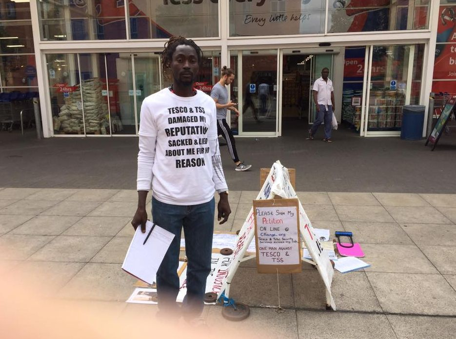 Tesco Superstore In Reading Shut Down After Protestor Refuses To Leave Shop's