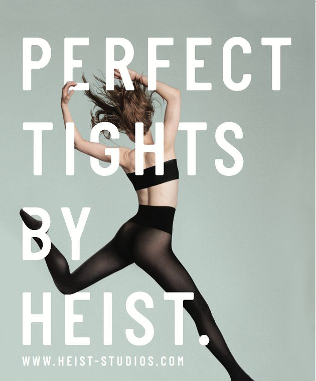 Heist Tights Advert Featuring Topless Woman Censored On London