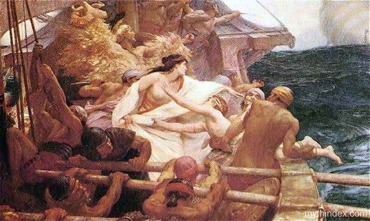 Early record of the land and culture dates back to Greek mythology