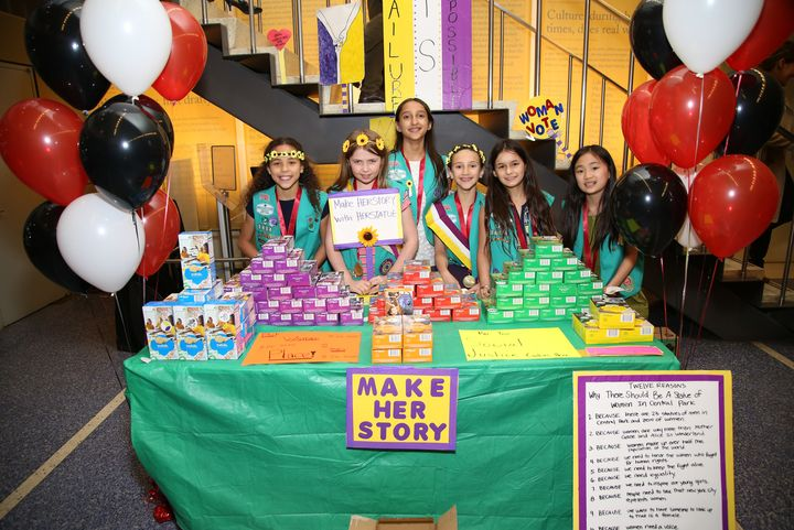 """We believe strongly in the importance of the all-girl, girl-led, and girl-friendly environment that Girl Scouts provid"