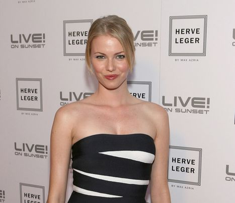 WEST HOLLYWOOD, CA - MAY 06:  Melissa Sagemiller attends the Herve Leger By Max Azaria Spring Collection Preview Party at Live! On Sunset on May 6, 2009 in West Hollywood, California.  (Photo by Jesse Grant/WireImage)