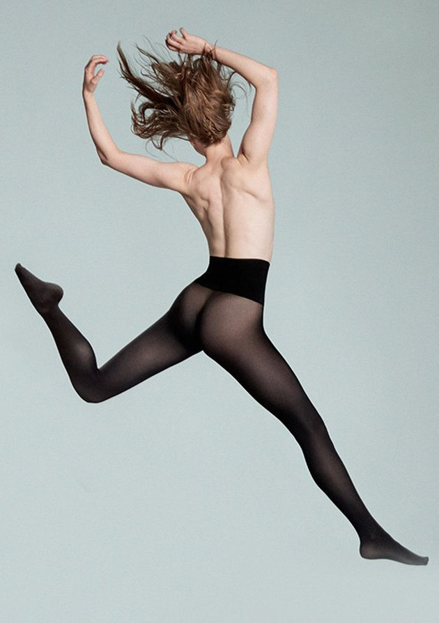 Heist Tights Ad Featuring Topless Woman Censored On London