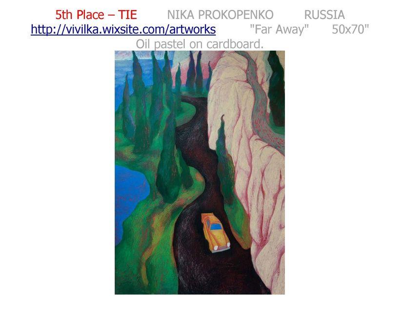 "<a rel=""nofollow"" href=""http://vivilka.wixsite.com/artworks"" target=""_blank"">PROKOPENKO WEB SITE</a>"