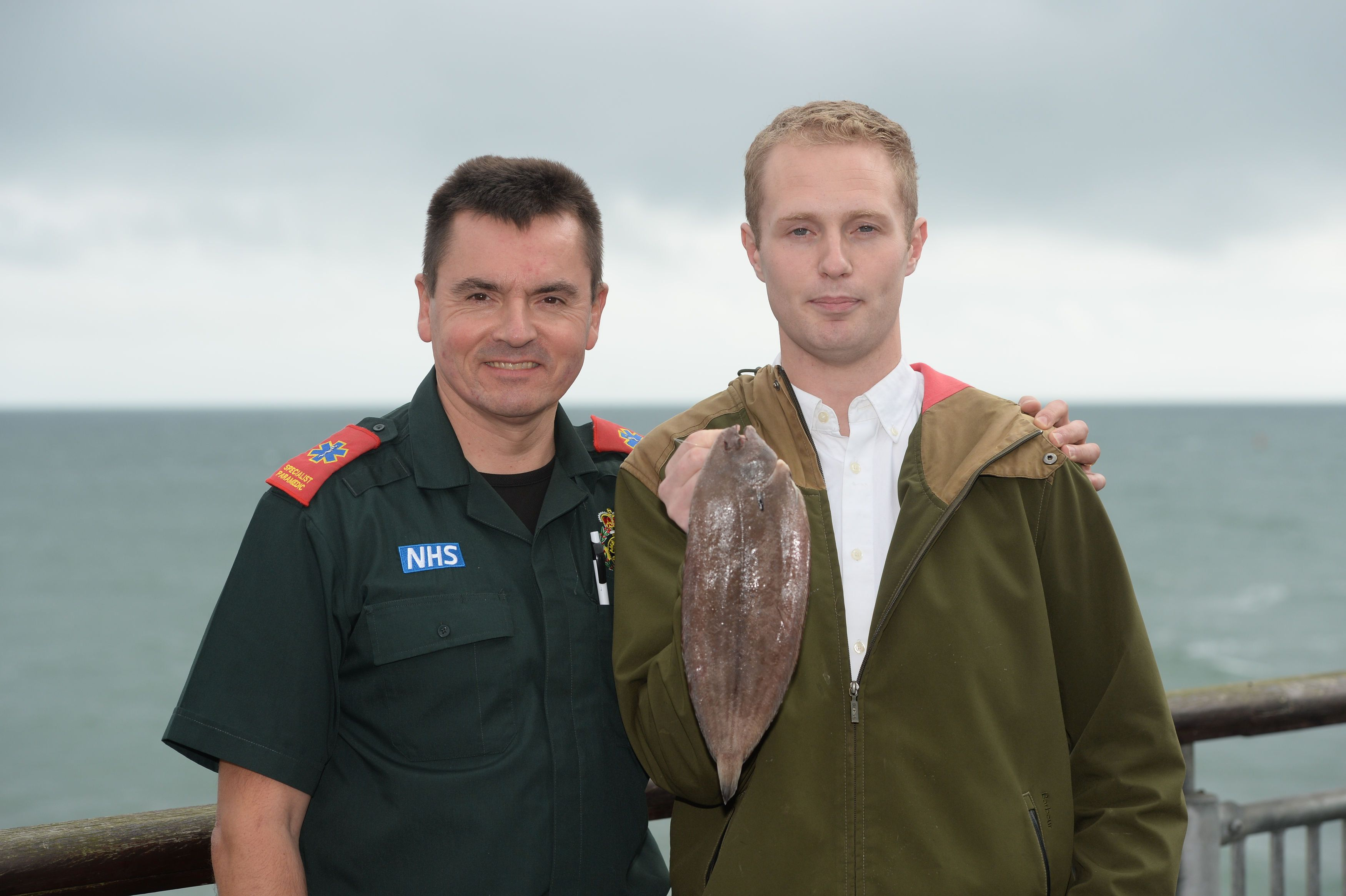 Angler Who Almost Choked To Death On Dover Sole Will 'Probably' Kiss More