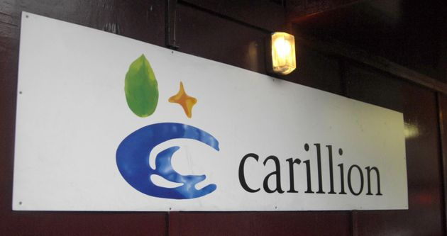 Carillion entered into a contract for prison maintenance in