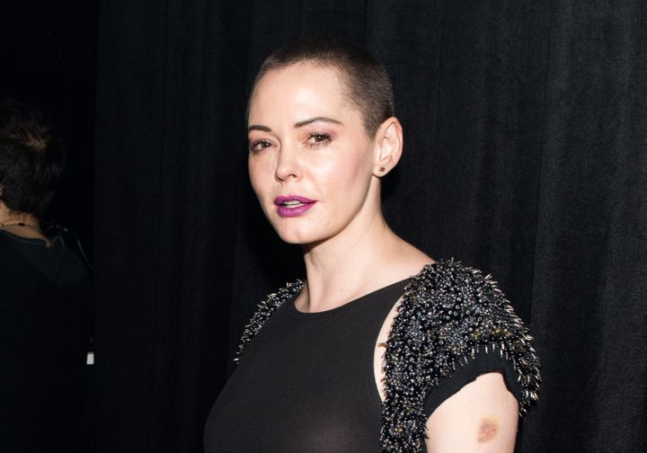 Rose McGowan, the woman who sparked the Twitter boycott.