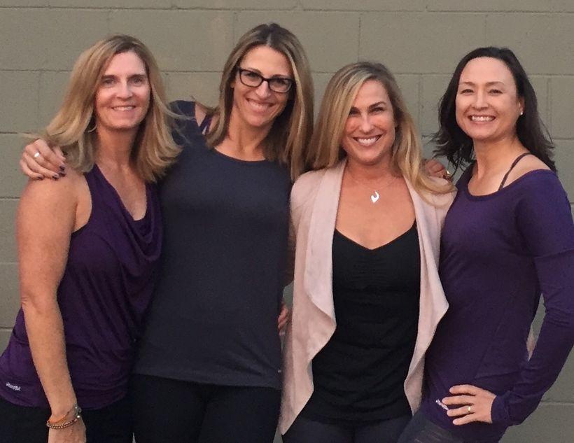 The Handful Executive Team - Tina, Jody, Jennifer and Cary