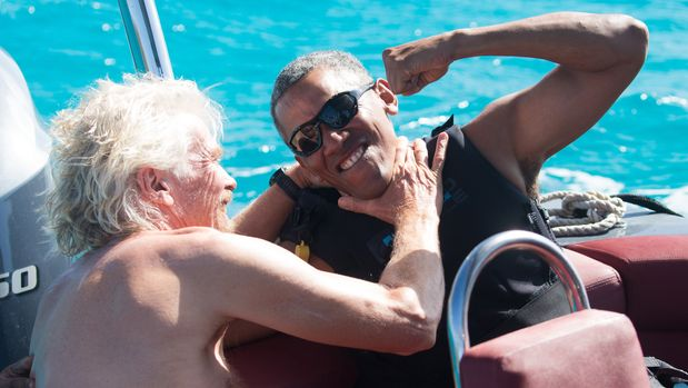 Here's What REALLY Happened When The Obamas Vacationed With Richard Branson