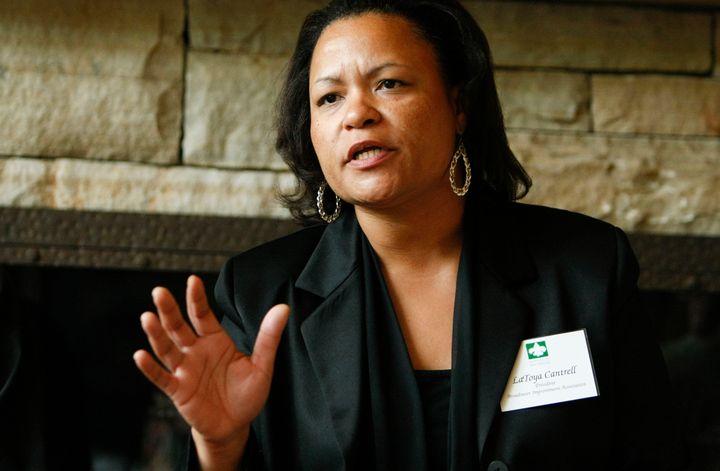 City Councilwoman LaToya Cantrell led a fight against razing the Broadmoor neighborhood after Hurricane Katrina.