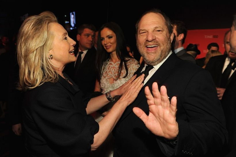 Hillary Clinton with Harvey Weinstein at a 2012 gala for Time's 100 Most Influential People in the World.