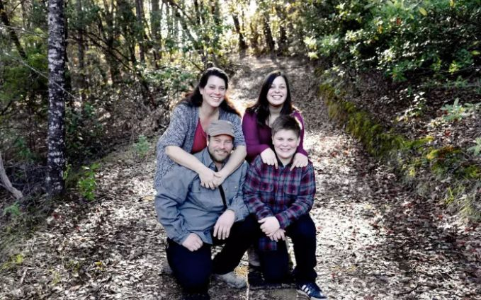Kai Logan Shepherd (bottom right) was killed in the fire as he and his family attempted to outrun the flames.