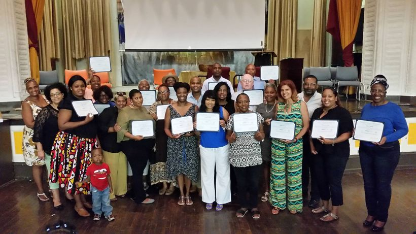 """Graduates of SERVE Philadelphia's Civic Engagement Academy at <a rel=""""nofollow"""" href=""""https://www.facebook.com/pages/William-"""