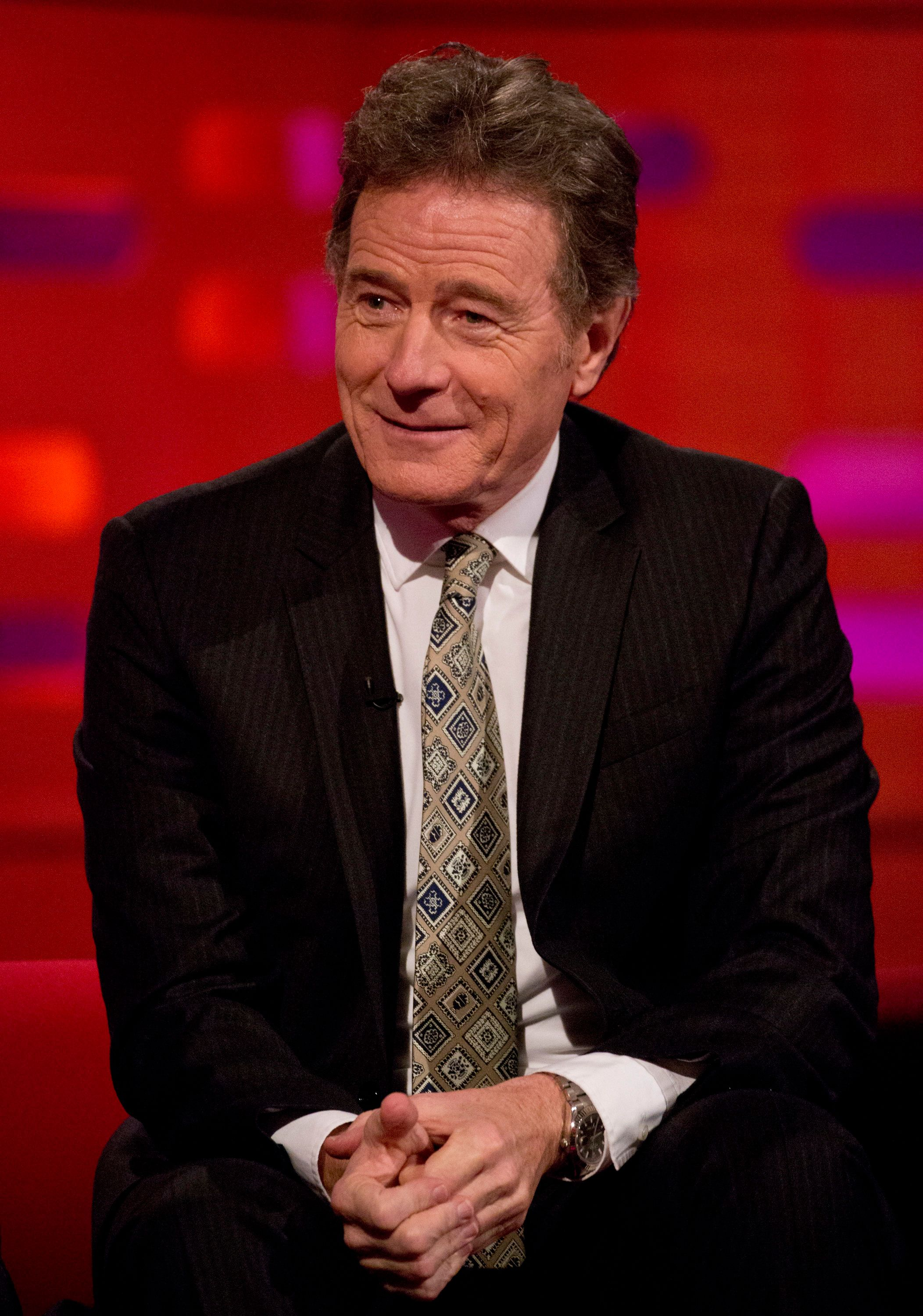 Bryan Cranston Tells Graham Norton About The Time He Got Caught Having Sex In A Tunnel In The