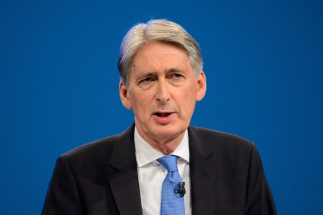 Chancellor Philip Hammond told Conservative Conference that Corbyn's Labour represented 'an existential...