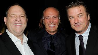 NEW YORK - SEPTEMBER 27:  (L-R) Harvey Weinstein, Danny Bennett and actor Alec Baldwin attend the Exploring the Arts Gala at Cipriani, Wall Street on September 27, 2010 in New York City.  (Photo by Larry Busacca/Getty Images for Exploring the Arts)