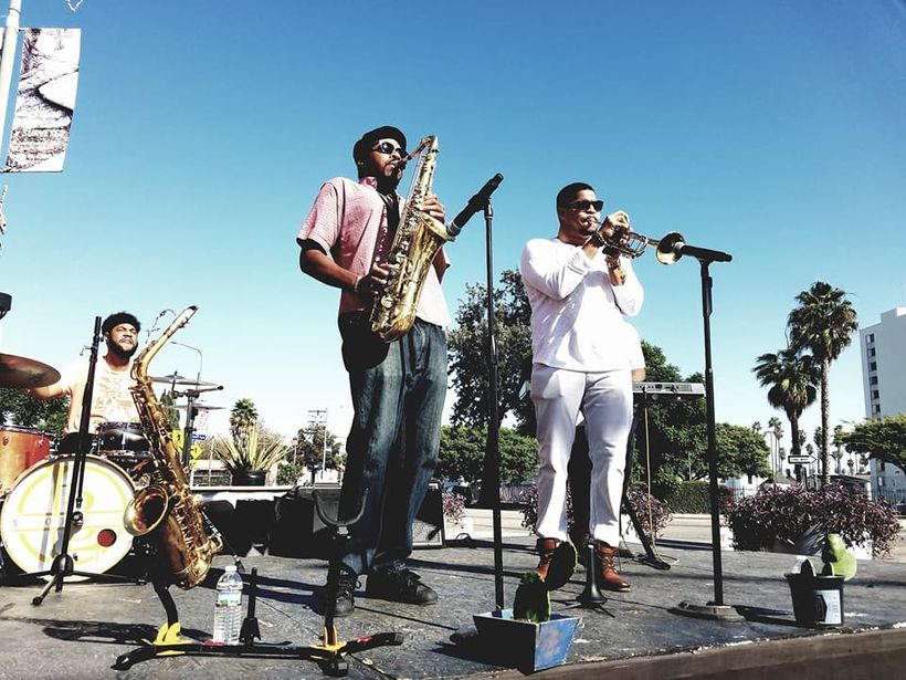 The Supu Lowery Brothers Blow at Leimert Park