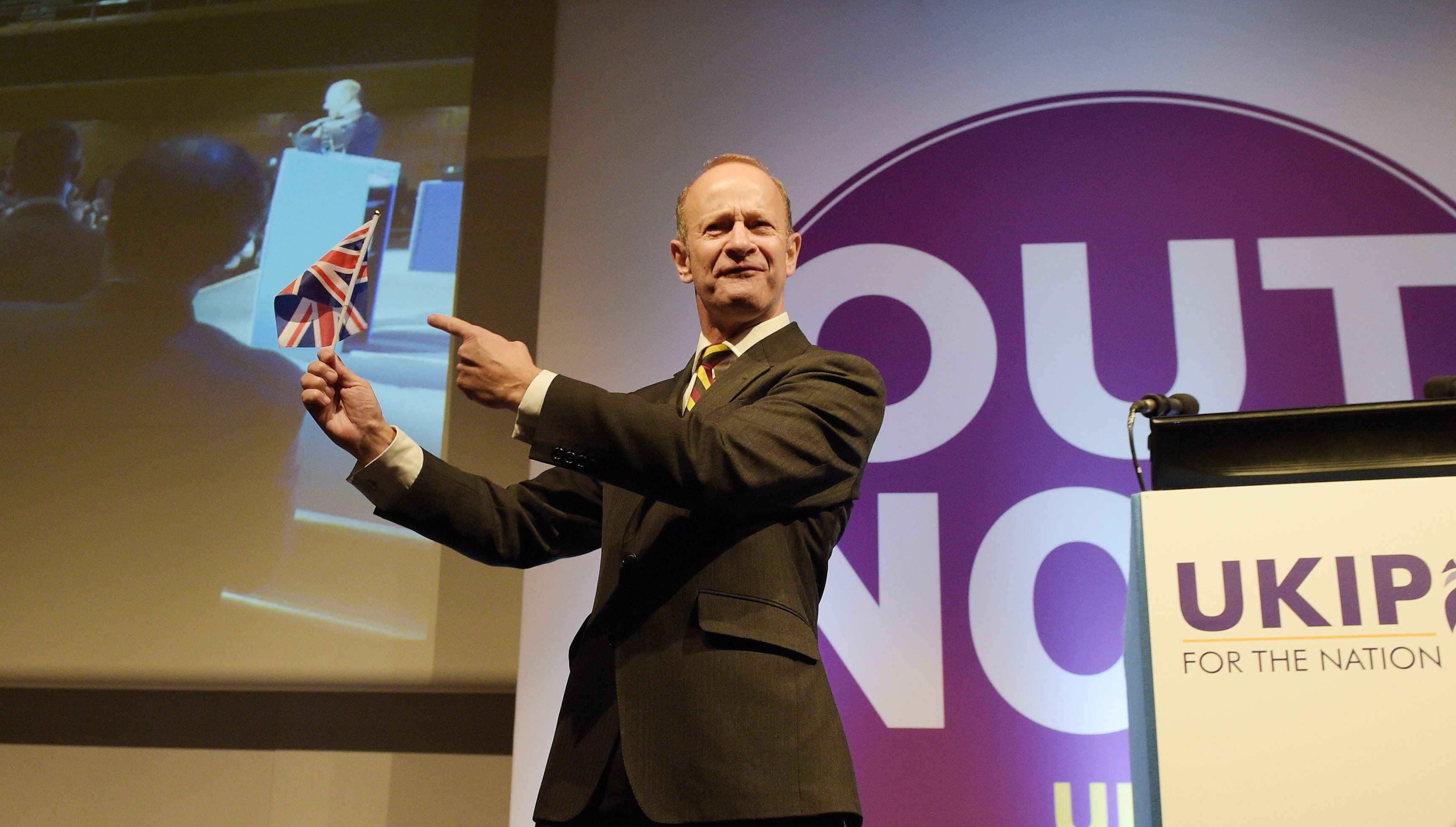Ukip's New Leader In Bizarre 'Kill A Badger With Bare Hands'