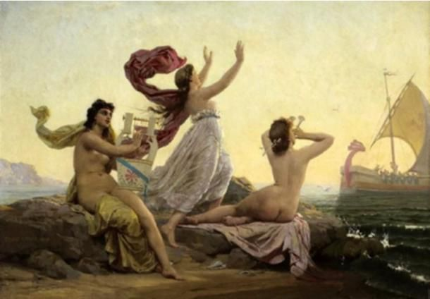 "The Sirens <a rel=""nofollow"" href=""https://www.ancient-origins.net/"" target=""_blank"">www.ancient-origins.net</a>"