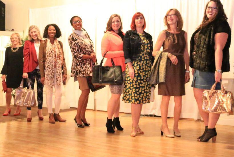 Style Encore fashion show models.