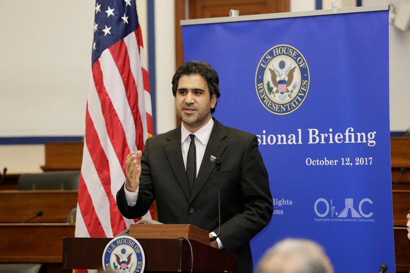 Dr. Majid Rafizadeh Speaking and Briefing at The United States Congress.