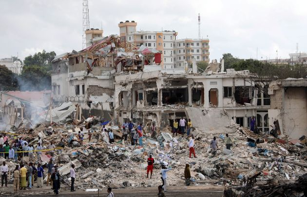 Twin bombings in the Somali capital ofMogadishu has resulted in at least 263